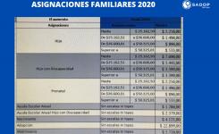 ASIGNACIONES FAMILIARES  2020