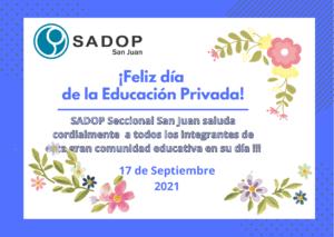 Lee más sobre el artículo FELIZ DIA DE LA EDUCACIÓN PRIVADA!!!